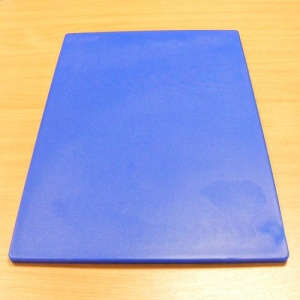 Large Blue Nylon Cutting Board 30 x 45cm