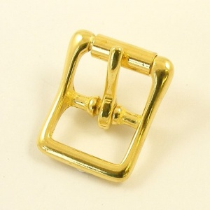 19mm Cast Brass Whole Roller Buckle