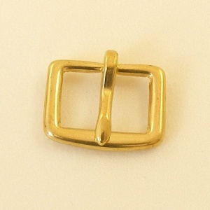 19mm Solid Brass  Bridle Buckle