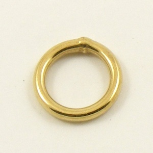 O Ring Brass Plated Steel 12mm 1/2''