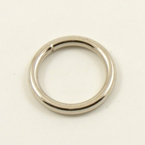 O Ring Nickel Plated Steel 20mm 3/4''