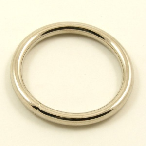 O Ring Nickel Plated Steel 38mm 1 1/2''