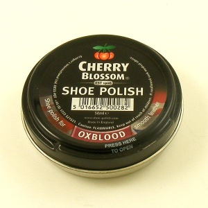 REDUCED Oxblood Shoe Polish