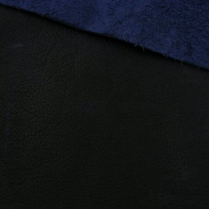 1.8-2mm Sapphire Blue Crease Rustic Style Leather 30 x 60cm