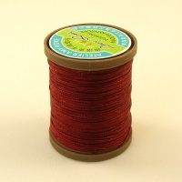 0.65mm Dark Red Polyester Sewing Thread