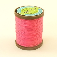 0.65mm Bright Pink Polyester Sewing Thread