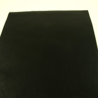 0.6mm Black Cow Nappa 30cm x 60cm