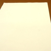 0.6mm White Cow Nappa 30cm x 60cm