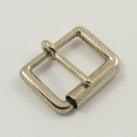 25mm 1'' Nickel Plated Single Roller Buckle
