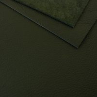 1.8-2mm Soft Crease Textured Cowhide Green A4