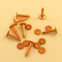 10 Gauge (Small) Ivan Brand Copper Rivets - Pack of 8