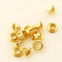 4mm Brass Eyelets for Leather & Craft