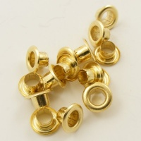 5.5mm Brass Eyelets for Leather & Craft
