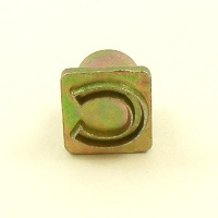 12mm Modern Letter C Embossing Stamp