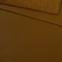 1mm Soft Crease Textured Cowhide Light Brown 30x60cm