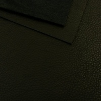 1mm Soft Crease Textured Cowhide Black 30x60cm