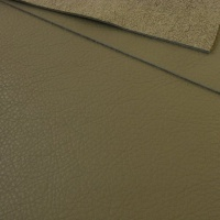 1mm Soft Crease Textured Cowhide Grey A4