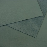 1mm REDUCED Soft Crease Textured Cowhide Pale Greyish Blue 30x60cm