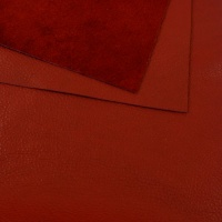 1mm REDUCED Soft Crease Textured Cowhide Red 30x60cm