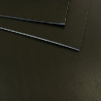 2 - 2.5mm Black Vegetable Tanned Leather A4 Size