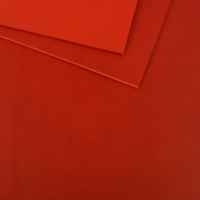 2 - 2.5mm Red Vegetable Tanned Leather A4 Size