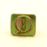 20mm Decorative Letter Q Embossing Stamp