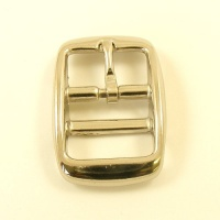Double Bar Buckle Nickel Plated 25mm