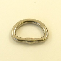 25mm 1'' Stainless Steel D Ring REDUCED TO CLEAR
