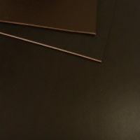 1.5mm Dark Brown Vegetable Tanned Leather 30 x 60cm Size