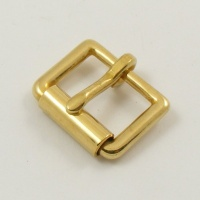 19mm 3/4''  Cast Brass Single Roller Buckle