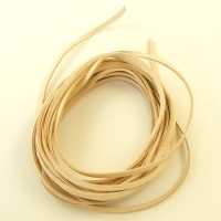 5 Metres Natural Undyed Leather Thonging 3.5mm x 1.5mm