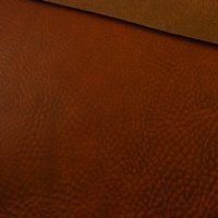 3.6-4mm Chestnut Crease Textured Leather A4