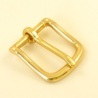 Solid Brass West End Belt Buckle 1 1/4 32mm