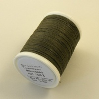 Grey Linen Sewing Thread Gruschwitz Grau 184