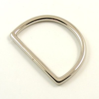 50mm Nickel Silver D Ring