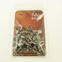 6mm Double Cap Nickel Plated Rivets