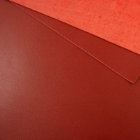 1.2 - 1.4mm Dark Red Calf Leather A4