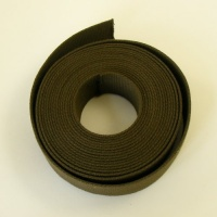 38mm Heavy Cotton Webbing Olive Green 2 Metres