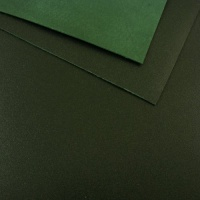 1.2 - 1.4mm Dark Green Calf Leather 30 x 60cm