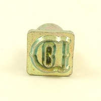 12mm Decorative Letter D Embossing Stamp