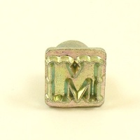 12mm Decorative Letter M Embossing Stamp