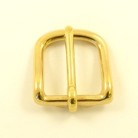 21mm Cast Brass West End Buckle
