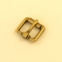 12mm 1/2'' Antique Finish Single Roller Buckle