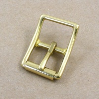 25mm HEAVY Cast Brass Whole Roller Buckle