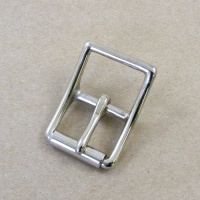 25mm HEAVY Nickel Plated Whole Roller Buckle