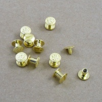 1/3 OFF Decorative 6mm Joining Screws - Brass Plated