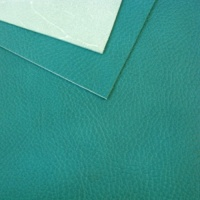 1.5-1.7mm Turquoise Soft Feel Vegetable Tanned Leather A4