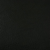 1.5-1.7mm Black Soft Feel Vegetable Tanned Leather 30 x 60cm