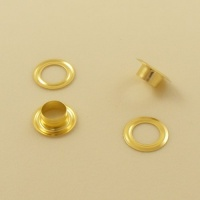 9mm Genuine Brass Eyelets / Grommets For Leather