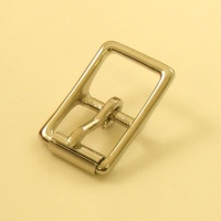19mm HEAVY Nickel Plated Whole Roller Buckle